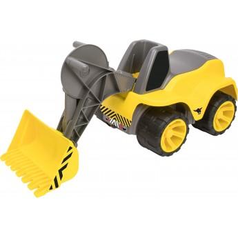 Каталка BIG навантажувач жовтий (55813)