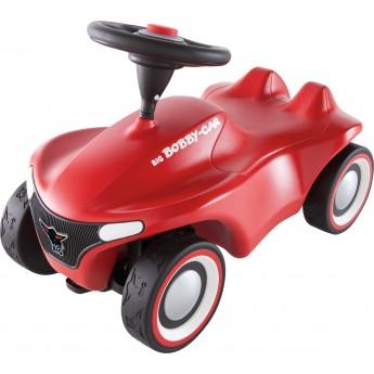 Машинка-каталка BIG Neo з захисними насадками червона (56240)