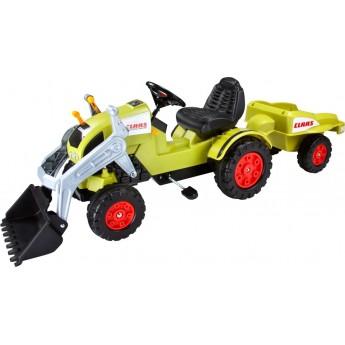 Трактор на педалях BIG Claas Celtis з причепом (56553)