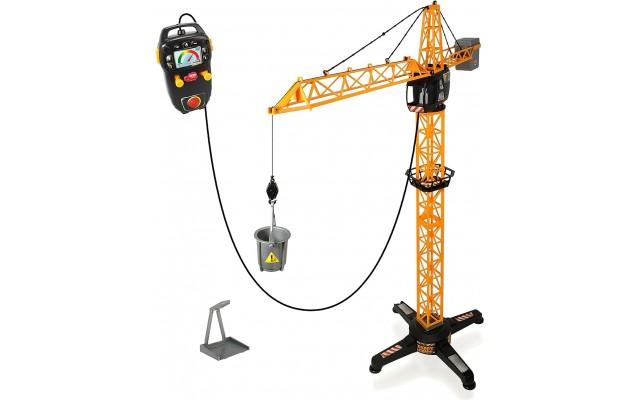 Дитячий баштовий кран Dickie Toys на дистанційному управлінні 100 см (3462411)