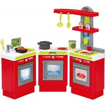 Игровая кухня Ecoiffier Модерн 3-х модульная 21 аксессуар (001623)