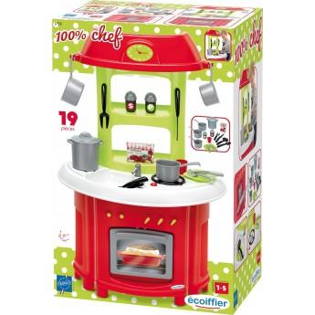 Игровой набор Ecoiffier Кухня Шеф с аксессуарами (001759)