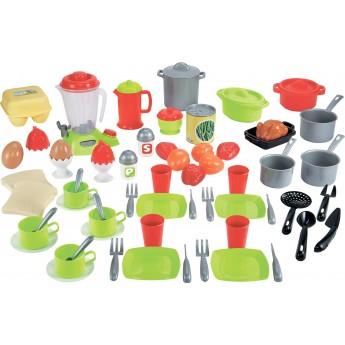 Игровой набор Ecoiffier Шеф-повар 18 аксессуаров (002598)