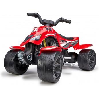 Детский квадроцикл на педалях Falk 630 Racing Team красный