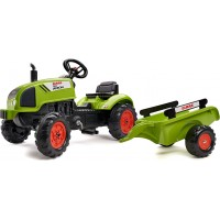 Трактор на педалях Falk 2041C Claas Arion 410 с прицепом