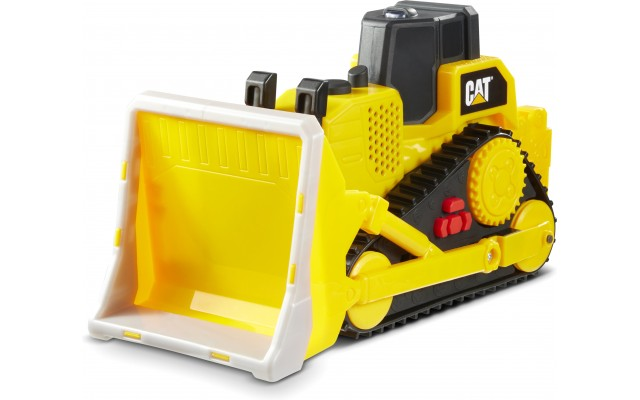 Машинка Cat бульдозер Сильні помічники, світло і звук, вібрація 25 см (82287)