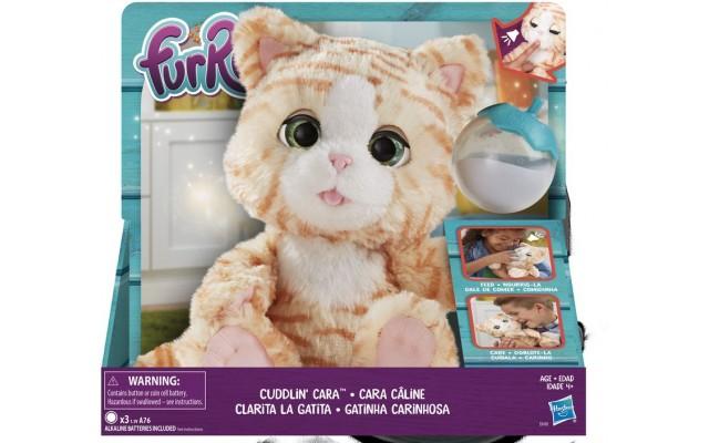 Інтерактивна іграшка Hasbro Furreal Friends Нагодуй кошеня, зі звуком (E0418)