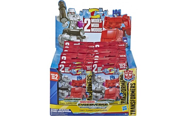Фигурка-сюрприз Hasbro Transformers Кибервселенная Tiny Turbo Changers, 3.5 см (E4485)