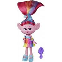 Кукла Hasbro Trolls S2 Делюкс Гламурная Розочка,15 см (E6569/E6818)