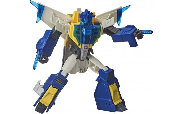 Игрушка интерактивная Hasbro Transformers Кибервселенная Метеорфаер, 14 см (E8227/E8375)