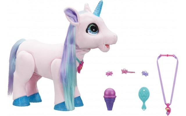 Інтерактивна м'яка іграшка Furreal Friends Hasbro Єдиноріг Блоссом (F0076)
