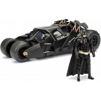 Машинка металлическая Jada Бэтмобиль Темного Рыцаря с фигуркой Бэтмена (253215005)