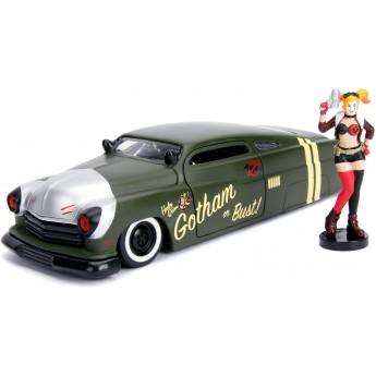Машинка металлическая Jada Меркури с фигуркой Харли Квинн (253255005)