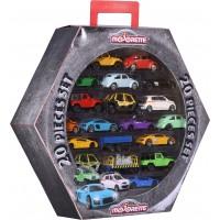 Набор металлических машинок Majorette Шестигранник с автомобилями, 20 шт. по 7.5 см (2058595)