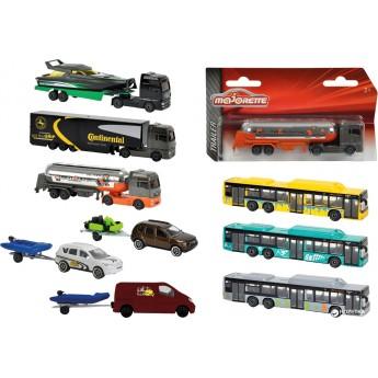 Машинка металлическая Majorette Транспорт 13 см, 6 видов на выбор (2053150)