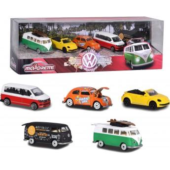 Набор Majorette коллекционные машинки Volkswagen 7.5 см (2057615)