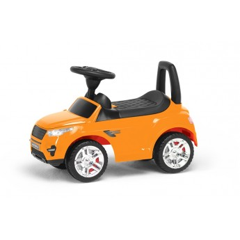 Толокар Numo Toys с багажником оранжевый (NT20052)