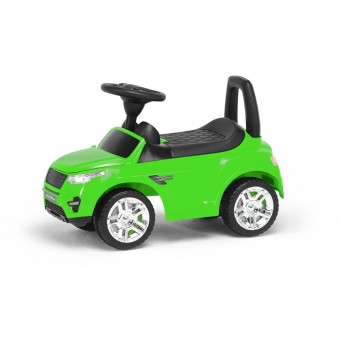 Толокар Numo Toys с багажником салатовый (NT20053)