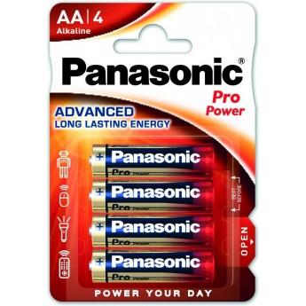 Батарейки Panasonic PRO POWER AA щелочные 4 шт.  (LR6XEG/4BP)