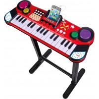 Музыкальный инструмент Simba Клавишная парта с разъемом для МР3-плеера 31 клавиша 67 см (6832609)