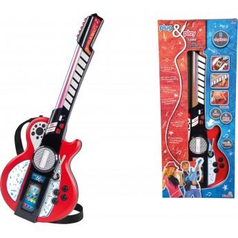 Детская гитара Simba с разъемом для MP3-плеера 8 музыкальных эффектов 66 см (6838628)