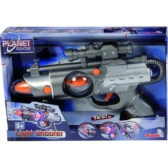 Детское лазерное оружие Simba Точный стрелок со светом и звуком 22 см (8046571)