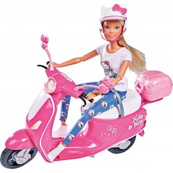 Кукла Simba Штеффи Hello Kitty Прогулка на скутере, з аксесуарами (9283024)