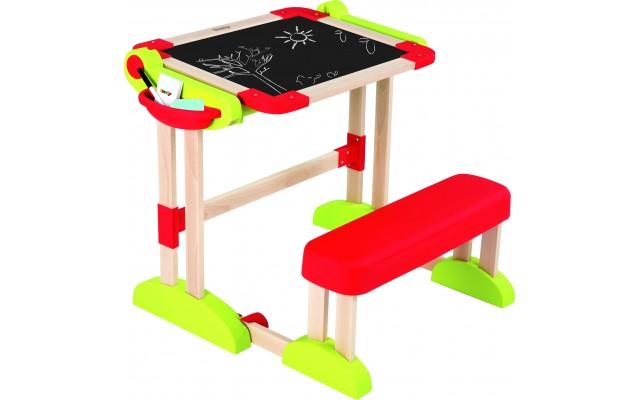 Парта-трансформер Smoby Toys деревянная для рисования (028112)