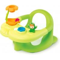 Стільчик для купання малюка Smoby Toys Cotoons з ігровою панеллю зелений (110615)