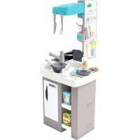 Детская кухня Smoby Toys Тефаль Студио Френч с аксессуарами эффектом кипения и звуками (311043)