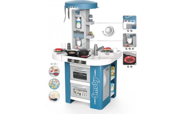 Кухня дитяча Smoby Toys Tech Edition зі звуком, світлом та аксесуарами (311049)