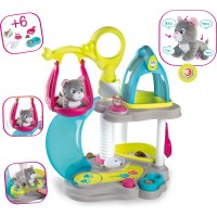 Игровой центр Smoby Дом котенка со звуковыми эффектами с аксессуарами (340400)
