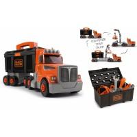 Ігровий набір Smoby Toys Black & Decker Вантажівка з інструментом (360175)