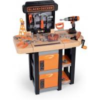 Игровой набор Smoby Toys Black & Decker Мобильная мастерская с инструментами (360315)