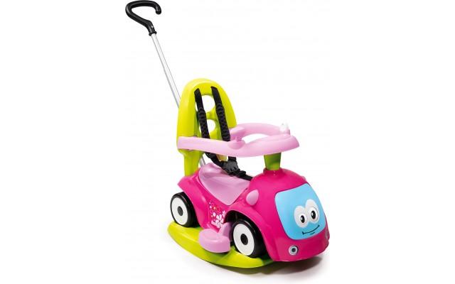 Машинка каталка Smoby Маэстро качели 4 в 1 розовый (720303)