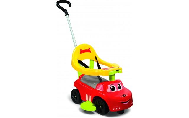 Машина для катання Smoby Toys Рудий коник 3 в 1 трансформер червона (720618)