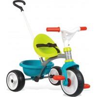 Велосипед Smoby Toys Be Move з багажником і батьківською ручкою синьо-зелений (740326)