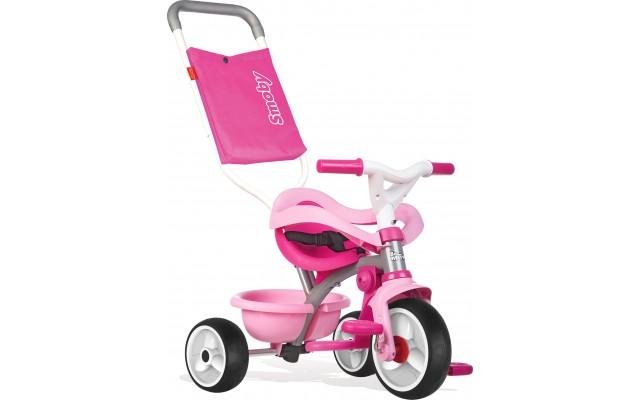 Велосипед дитячий Smoby Toys Be Move з багажником і сумкою-конвертом рожевий (740404)