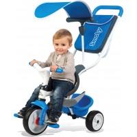 Велосипед для детей Smoby Toys с козырьком багажником и сумкой синий (741102)