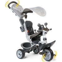 Велосипед Smoby Toys Комфорт триколісний з козирком і багажником (741202)