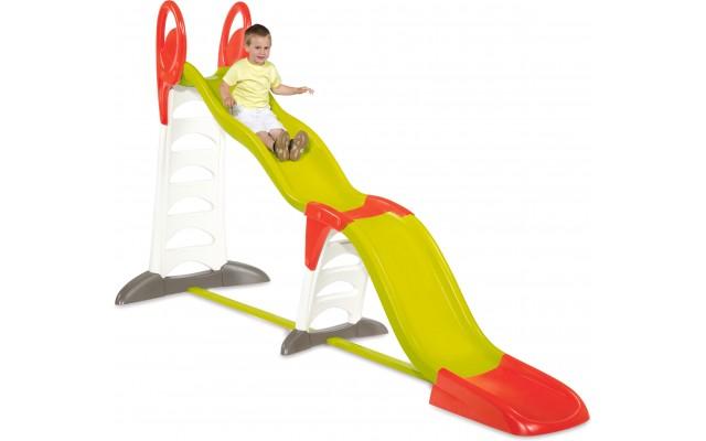 Мега горка Smoby 2 в 1 для детской площадки 150-375 см (310260)