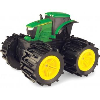 Игрушка John Deere трактор Monster Treads с расширяющимися колесами 19 см Tomy (46645)