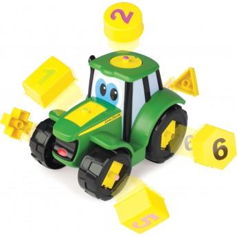 Игрушка-сортер John Deere Трактор Джонни Tomy (46654)