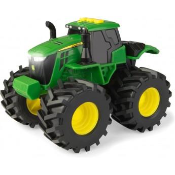 Игрушка John Deere трактор Monster Treads со светом и звуком 14 см Tomy (46656)