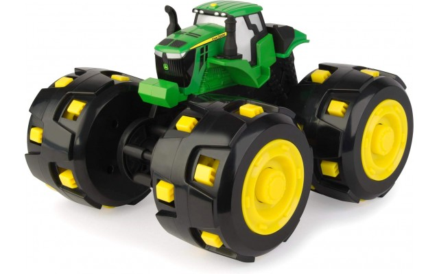 Игрушка John Deere трактор Monster Treads с большими шиповаными колесами 18 см Tomy (46712)