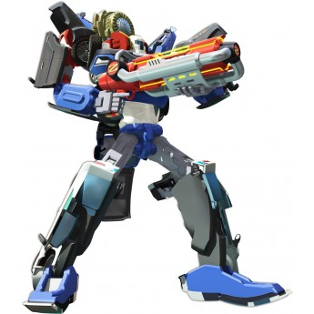 Игрушка-трансформер Tobot Тритан со светом и звуком Young Toys (301007)