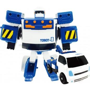 Игрушка-трансформер Tobot S3 мини Zero с подъемным краном Young Toys (301029)