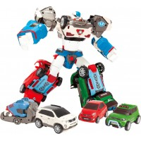 Игрушка-трансформер Tobot S3 Дельтатрон 3 машинки 1 прицеп Young Toys (301040)