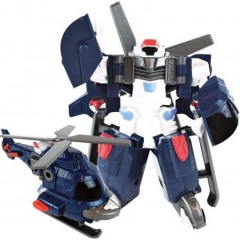 Игрушка-трансформер Tobot S3 мини Adventure Y вертолет со съемным винтом Young Toys (301045)