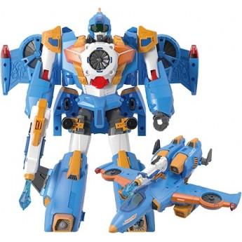 Игрушка-трансформер Tobot S4 Mach W, 3 в 1 истребитель и скоростная капсула Young Toys (301049)